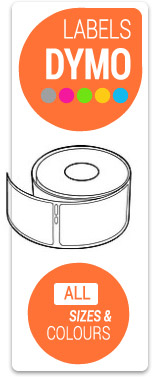 Cheap Dymo Labels - All Sizes from 99010 to 11356 4XL - In All Colours