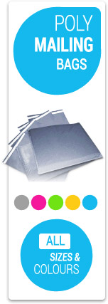 Cheap Poly Mailing bags - All Sizes and Colours
