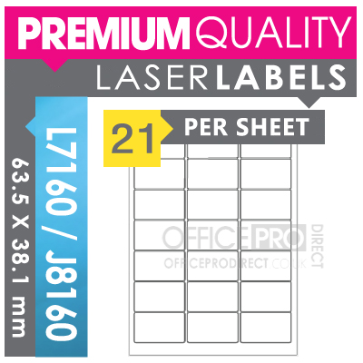 200 sheets 21 per sheet a4 self adhesive printer for Label template 65 per sheet